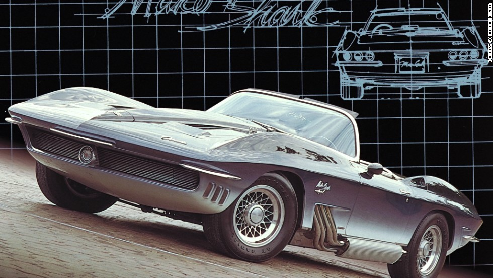 Retro, sci-fi, and inspired by a shark caught by General Motors head Bill Mitchell. It's little wonder the Mako Shark Corvette has gained cult status among car enthusiasts. Here are some more of our top shark-inspired designs...