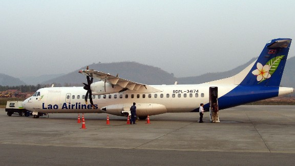 The plane was a twin-engine turboprop ATR 72, similar to this Lao Airlines ATR-72 500, photographed  in 2011.