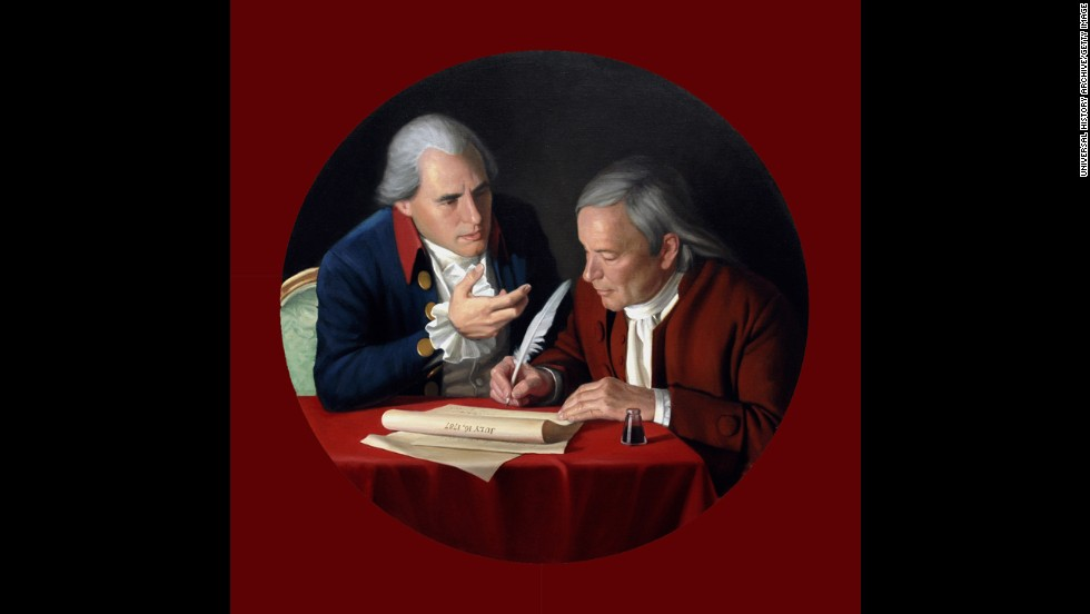 Connecticut delegates Roger Sherman, left, and Oliver Ellsworth drafted the Great Compromise, a plan for congressional representation, in 1787. Without this, there likely would have been no Constitution. Many more compromises have followed in U.S. political history.