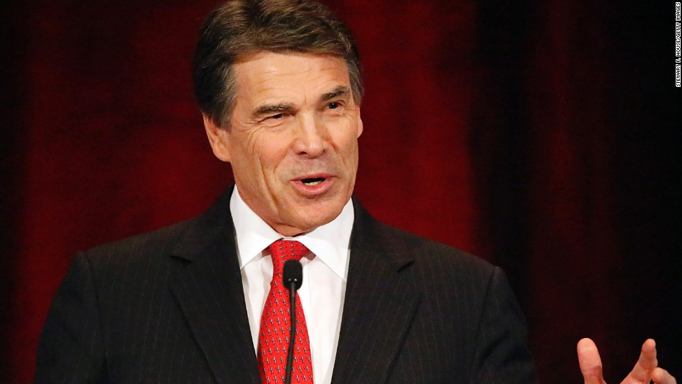 Republican Rick Perry, the former Texas governor, announced in 2013 that he would not be seeking re-election, leading to speculation that he might mount a second White House bid.