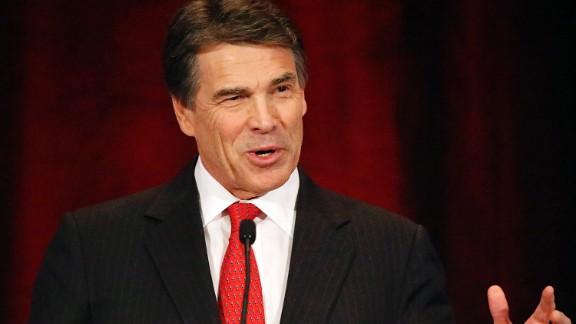 Texas Gov. Rick Perry praised Tuesday