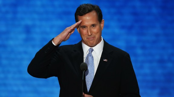 Former Pennsylvania Sen. Rick Santorum, a social conservative, gave Mitt Romney his toughest challenge in the nomination fight last time out and has made trips recently to early voting states, including Iowa and South Carolina.