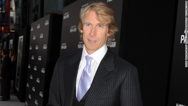 "Director Michael Bay at the April 2013 premiere of his film, ""Pain & Gain."""