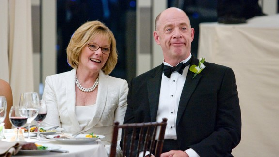 "J.K. Simmons, seen here with Jane Curtin in the film ""I Love You, Man,"" has played all sorts of roles, including a white supremacist on ""Oz"" and a therapist on ""Law & Order."" Will he stay a character actor now that he has an Oscar for ""Whiplash""?"