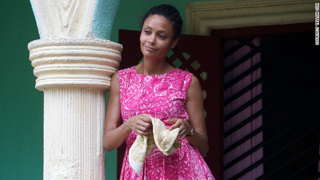 Thandie Newton plays the role of Olanna in 'Half of a Yellow Sun'