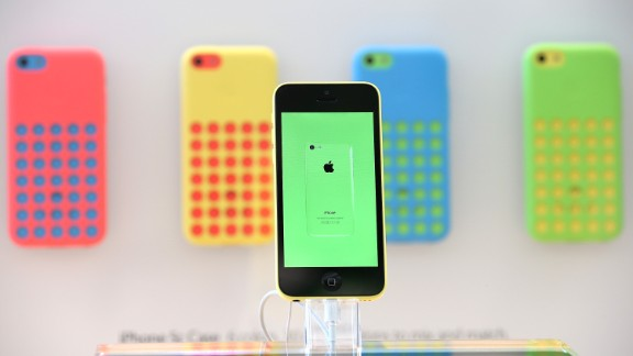 Apple releases iOS 7, two new iPhones: This year Apple's biggest move was to update its mobile operating system, iOS 7, which got new features and a fresh look. The company also released two new iPhones (the gold-colored, fingerprint-detecting 5S and the cheaper and more colorful 5C) and two speedier iPads.
