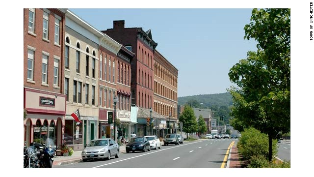 Winchester, Connecticut, has a population of about 11,500.
