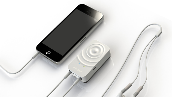 """Enhance your audio experience while gaming or listening to music. <a href=""""http://get.woojer.com/"""" target=""""_blank"""" target=""""_blank"""">Woojer</a> has developed a device that clips onto your clothing in one or more places along """"strategic meridian bodylines."""" It convinces the brain that your entire body is experiencing high acoustic sound via perceptual inference."""