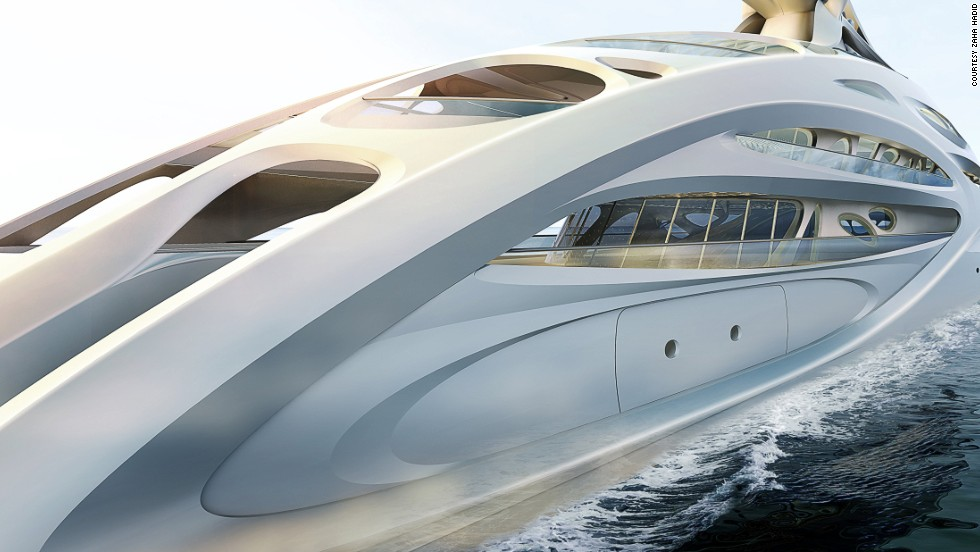 Freivokh believes individuals from other areas of design and architecture can bring exciting new aspects to yacht design. Superstar architect Zaha Hadid turned her hand to the discipline last year when she designed this vessel for German firm Blohm+Voss.