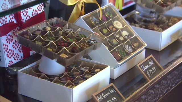 Chocolate prices on the rise