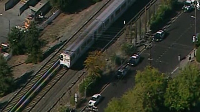 The train that struck the workers was being run in automatic mode under computer control, BART says.