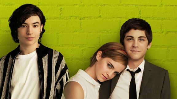"""Stephen Chbosky wrote """"The Perks of Being a Wallflower"""" and adapted it into a successful film in 2012 starring Ezra Miller, left, Emma Watson and Logan Lerman."""