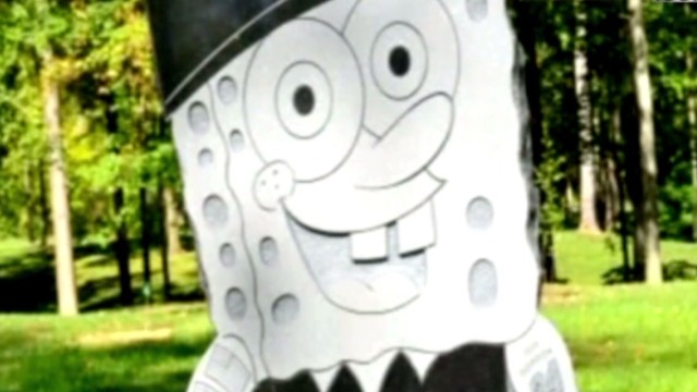 Family, cemetery feud over SpongeBob