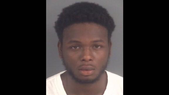 Melvin Clark, 19, was arrested Sunday.