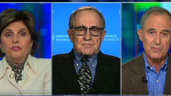 exp pmt alan dershowitz lanny davis gloria allred bullying_00025326.jpg