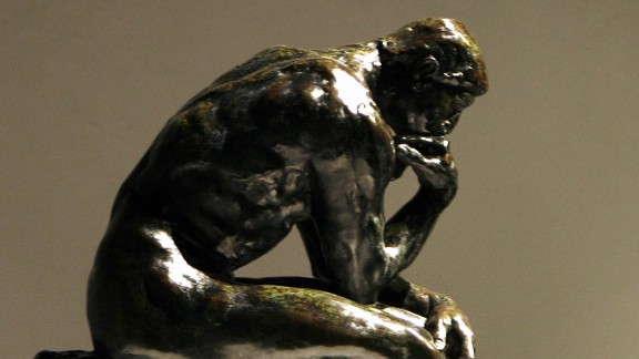 There are 28 castings of Auguste Rodin
