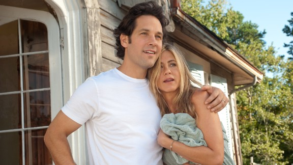 "Jennifer Aniston explored the world of free love and nudity with Paul Rudd in the film ""Wanderlust."" She has been quoted as saying being nude in movies is ""liberating"" but denied to friend Chelsea Handler on her late night talk show that she and her now-husband, Justin Theroux, are nudists."