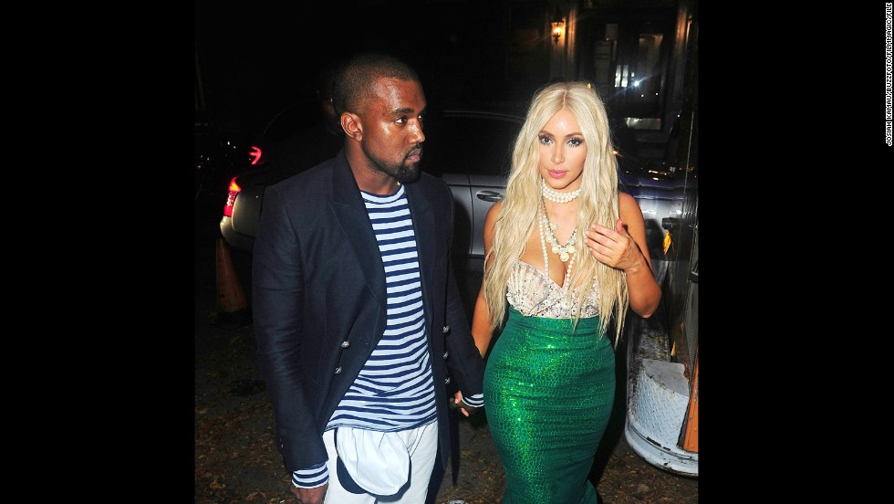 Kanye West and Kim Kardashian had so much fun dressing up for Halloween last year  sc 1 st  CNN.com & Which celeb costume won Halloween? - CNN