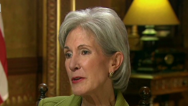 Sebelius touts '500,000+ accounts'