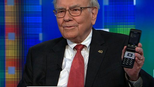 نتيجة بحث الصور عن Warren Buffett phone