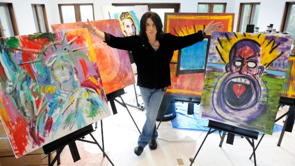 Kiss guitarist Paul Stanley also paints. Stanley, who attended New York's High School of Music and Art, became serious about his painting in the last decade or so.