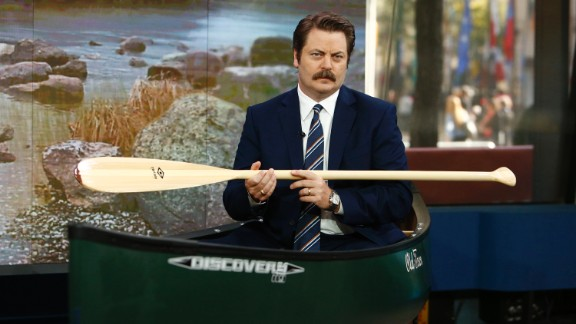 """When he's not appearing on """"Parks and Recreation,"""" Nick Offerman is an accomplished woodworker; he even has a collective devoted to the craft."""