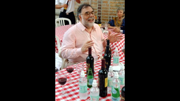 Director Francis Ford Coppola is also a winemaker. His Francis Ford Coppola Winery in Geyserville, California, has produced several highly rated vintages.