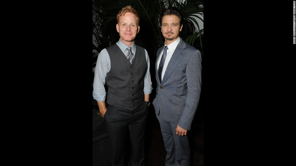 "Jeremy Renner, right, might now be an Oscar-nominated actor, but before he hit it big he was a hugely successful house flipper. He and actor Kristoffer Winters<strong> </strong>haven't lost their touch: a property they bought for $7 million reportedly sold for <a href=""http://articles.latimes.com/2013/aug/19/business/la-fi-hotprop-jeremy-renner-kristoffer-winters-20130819"" target=""_blank"">$24 million in August 2013</a>."