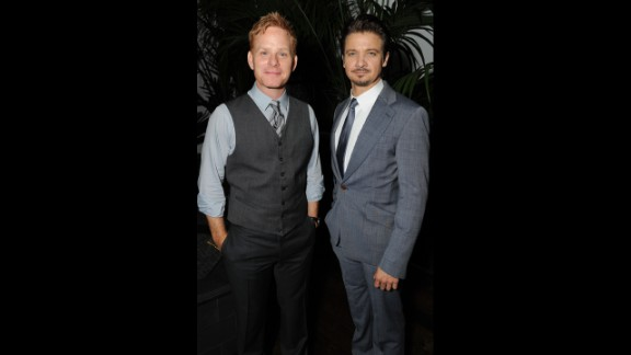 Jeremy Renner, right, might now be an Oscar-nominated actor, but before he hit it big he was a hugely successful house flipper. He and actor Kristoffer Winters haven't lost their touch: a property they bought for $7 million reportedly sold for $24 million in August 2013.