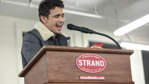 """Sometimes the question about James Franco is whether he's an actor or is merely playing one, because he does many other things. He's written books -- including """"Actors Anonymous"""" -- he's sung, and he's taught at New York University, Columbia and UCLA. In March, he'll release a book about Lana Del Rey."""