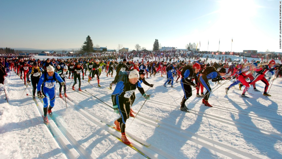 The Birkebeiner cross-country race is one of four annual sporting events honoring the rescue of the boy who would become the 13th-century Norwegian king Haakon Haakonsson IV. All are extremely popular, attracting around 70,000 participants every year.