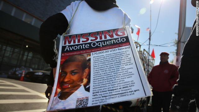 Hundreds of police, volunteers, friends and family had searched for Avonte Oquendo, whose remains recently washed up in Queens more than three months after he disappeared.
