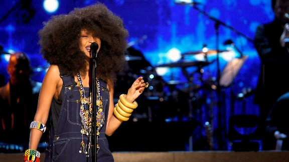 Erykah Badu is known for her soulful sounds and personal style, but in 2011 she revealed that she'd found another passion: helping moms deliver babies. A mother of three, Badu became a certified doula and was working toward her midwifery license.