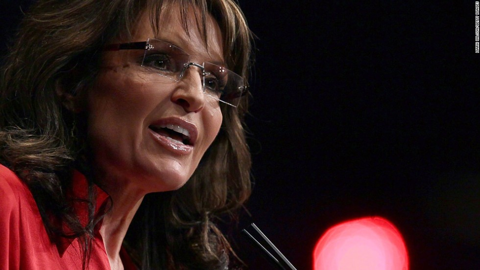 "In the middle of the Republican presidential primaries in February 2012, Palin told the Conservative Political Action Conference that the party needs a candidate who ""can instinctively turn right"" -- a dig at eventual GOP nominee Mitt Romney."