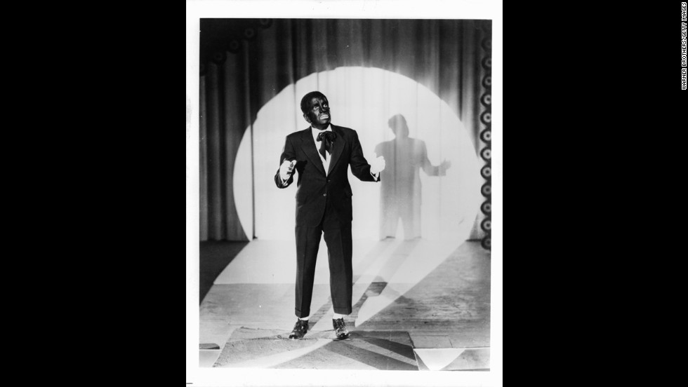 "Al Jolson starred in the film ""The Jazz Singer,"" which was released in 1927. It was the first feature-length film with talking sequences."