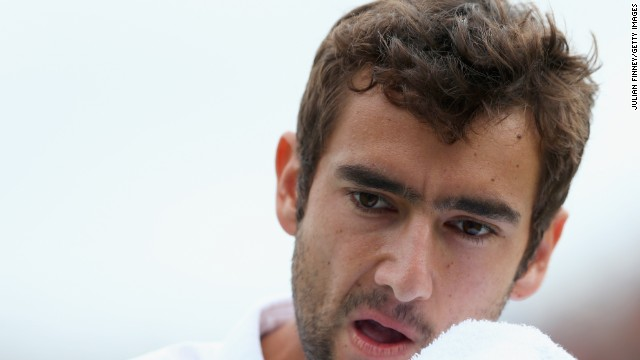 Marin Cilic made a winning return to the ATP Tour after serving a four-month doping ban.