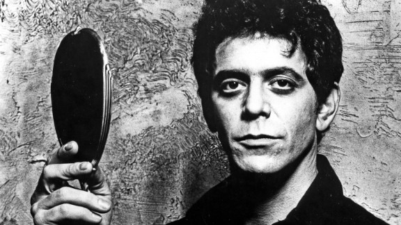 Lou Reed, who took rock