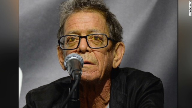 Rock icon Lou Reed dead at 71
