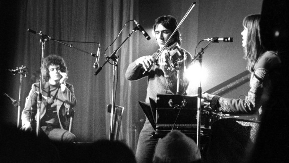 Reed, violist John Cale and German singer Nico perform in France in 1972. Reed, Cale, guitarist Sterling Morrison, and drummer Maureen Tucker played their first show as the Velvet Underground in 1965.