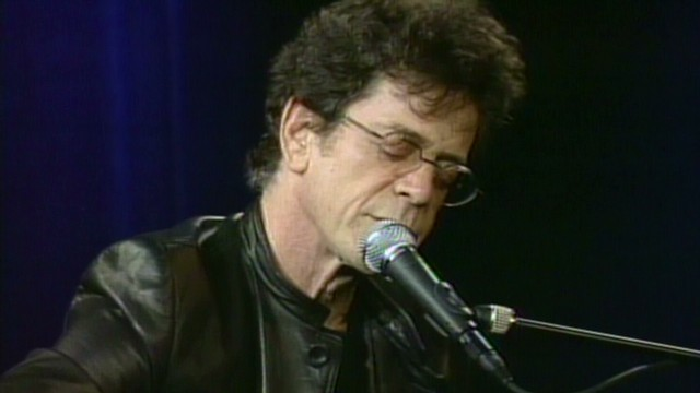 Lou Reed acoustic  'Dirty Boulevard'