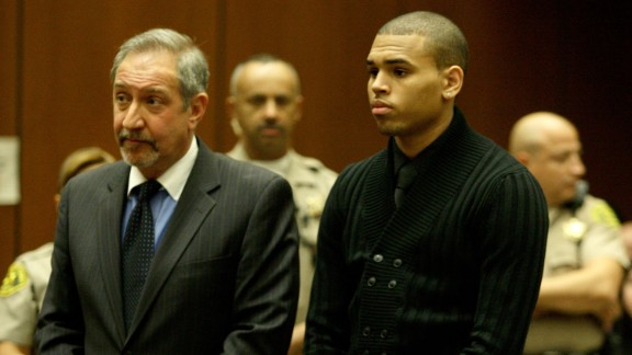 "March 2009: Brown apologized a week after his arrest. ""Words cannot begin to express how sorry and saddened I am over what transpired,"" he said. ""I am seeking the counseling of my pastor, my mother and other loved ones and I am committed, with God's help, to emerging a better person."" He was formally charged with felony counts of assault and making criminal threats that March 5."