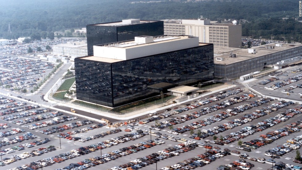 The National Security Agency's (NSA) headquarters in Fort Meade, Maryland.