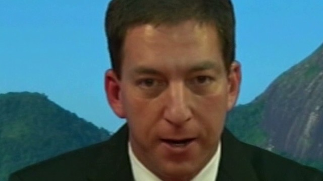 Greenwald: U.S.spying not about terrorism