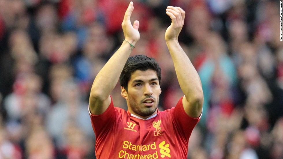 <strong>Luis Suarez</strong> (Liverpool & Uruguay) <strong><br />CNN rating: </strong>No chance <br />Suarez's talent means he warrants a place on any list of the world's best footballers. Unfortunately his temperament often gets in the way. The Uruguayan has received lengthy bans for racism offenses and biting opponents.
