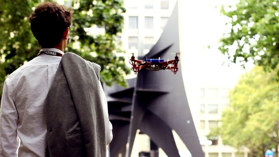 """Drones turn campus guide at -- where else -- MIT. Skycall is a prototype to help <a href=""""http://www.harvard.edu/"""" target=""""_blank"""" target=""""_blank"""">Harvard</a> students navigate around MIT's infamously convoluted landscape. It was developed by an <a href=""""http://hst.mit.edu/"""" target=""""_blank"""" target=""""_blank"""">MIT</a> research group called <a href=""""http://senseable.mit.edu/skycall/"""" target=""""_blank"""" target=""""_blank"""">Senseable City Lab</a>."""