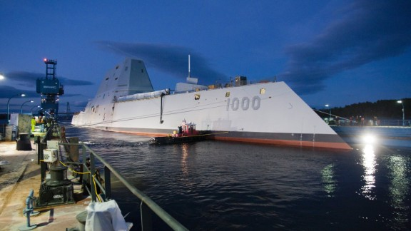 Britain's warship of the future looks a bit like the U.S. Navy's stealth destroyer of the present, the USS Zumwalt.
