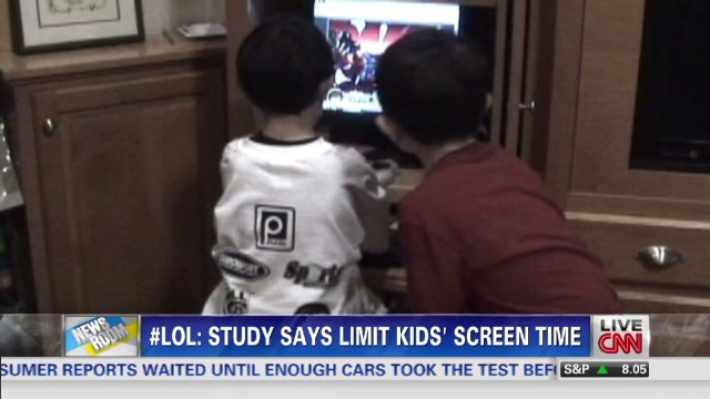 New screen rules for babies and kids