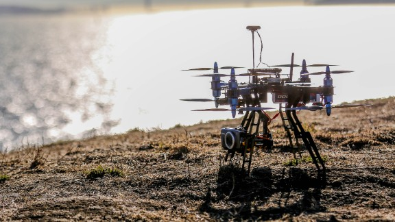 """UAV technology company <a href=""""http://3drobotics.com/"""" target=""""_blank"""" target=""""_blank"""">3D Robotics</a> has developed the X8, a copter that can take high-resolution videos and photographs, an do detailed mapping. 3D Robotics says the user will be able  to create, fly and repeat missions for data measurement."""