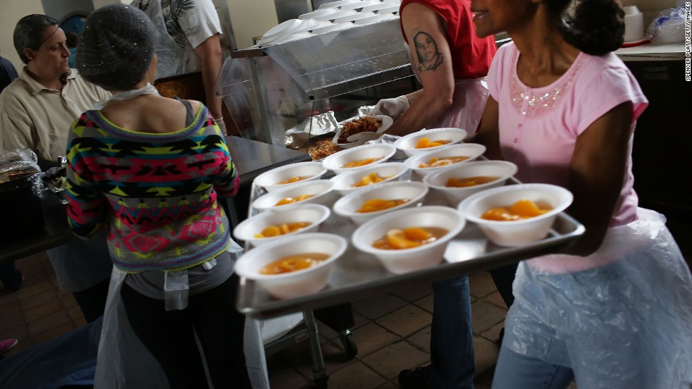 Volunteer at a soup kitchen on the weekends as often as you can.