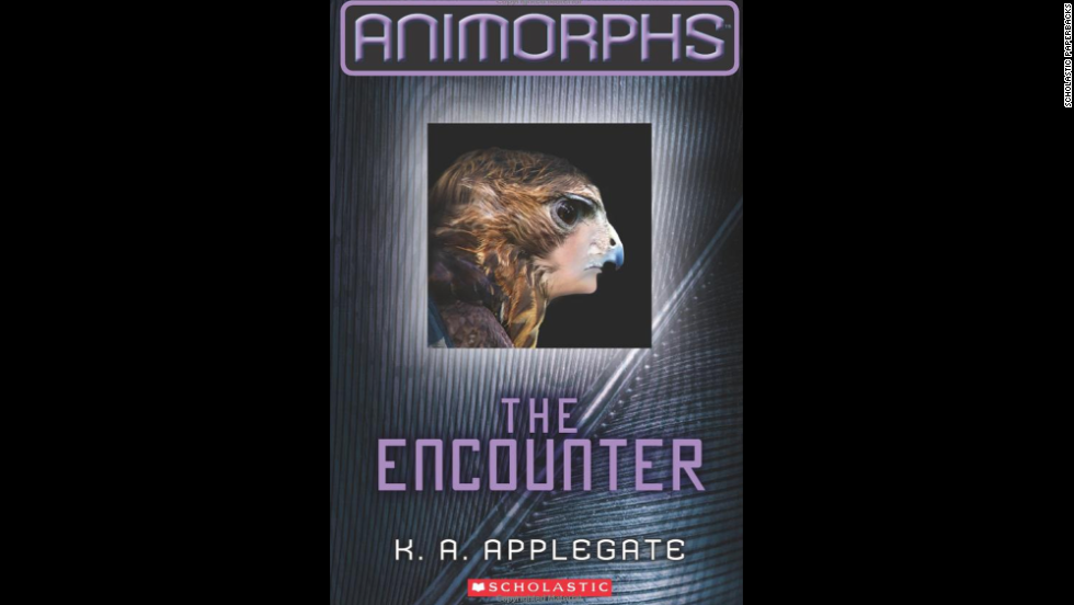 "K.A. Applegate's Animorphs series revolves around humans and an alien who use their ability to morph into animals to battle an alien attack of Earth. ""Those books brought up some pretty heavy moral dilemmas and challenged the readers to draw their own conclusions,"" <a href=""http://www.cnn.com/2013/10/07/living/best-young-adult-books/index.html#comment-1075594290"">one enthusiastic reader said</a>."